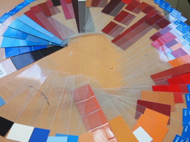 カラーチップイメージ写真