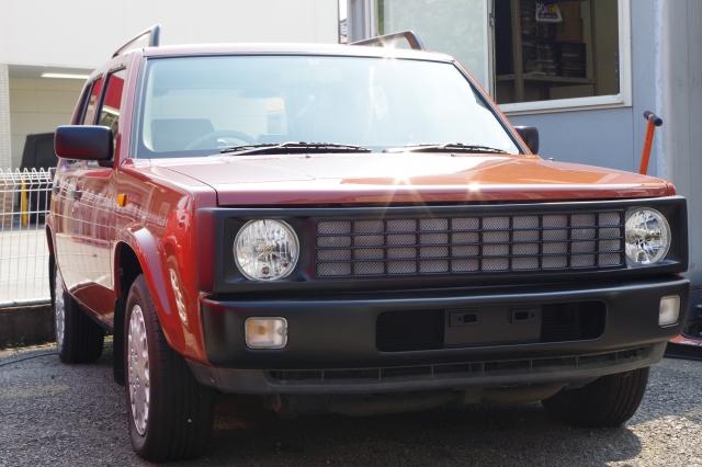 ラシーンカスタム画像アメリカンフェイスKIT装着車両の写真