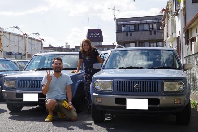 ラシーン納車記念写真