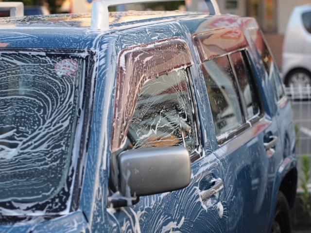 ラシーン洗車写真